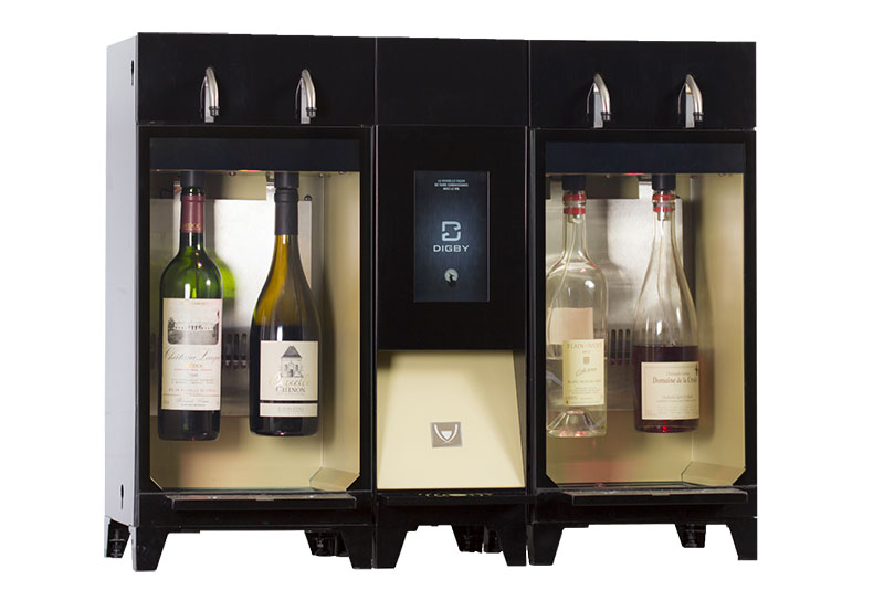 wine dispenser by the glass